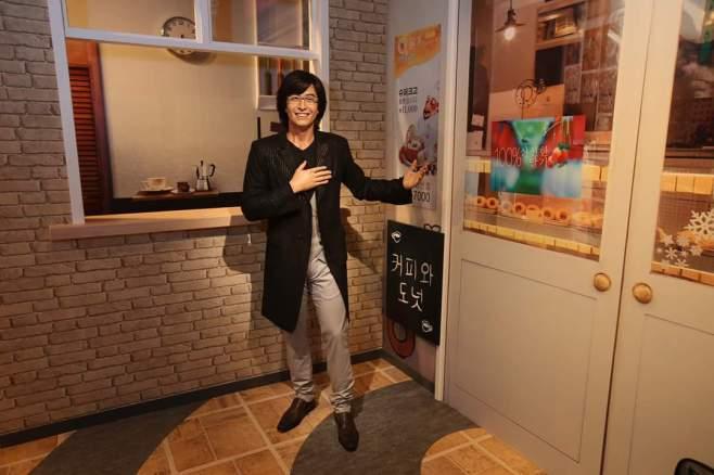 Madame Tussauds Hong Kong Myeongdong cafe