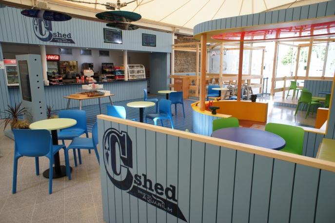 C-Shed Bristol Aquarium