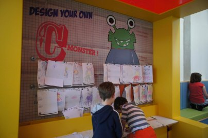 C-Shed C-Monster interactive