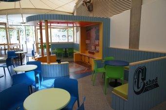 C-Shed C-Monster cafe