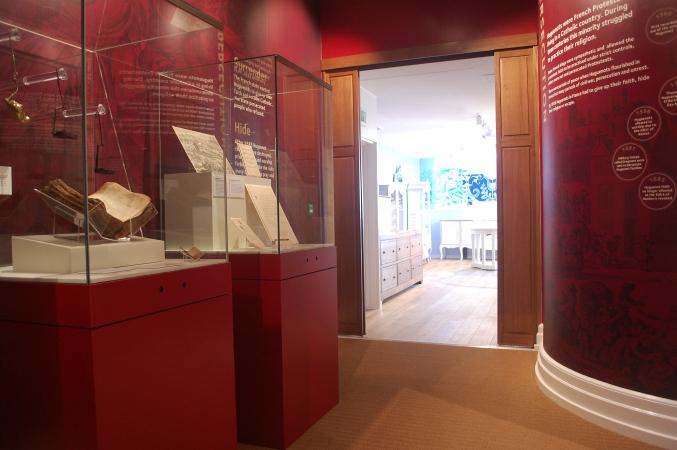 Huguenot Museum- persecution gallery