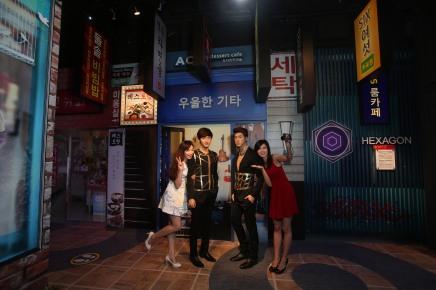 Madame Tussauds Hong Kong Myeongdong street