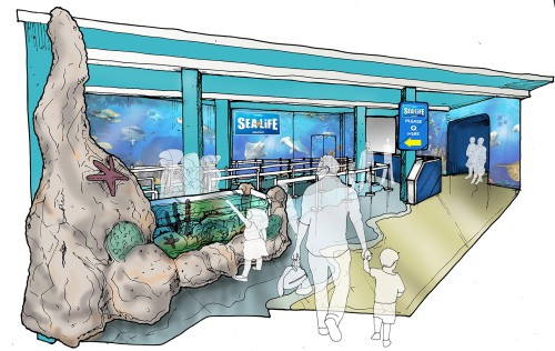 Sea Life London Aquarium Entrance Experience