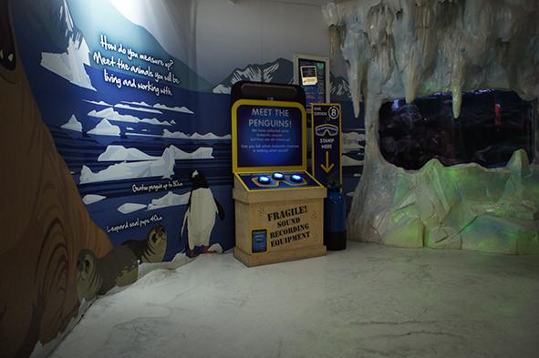 Sea Life London BRP Interactives Prototype