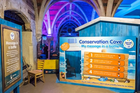 Conservation Cove opens at Brighton Sea Life Centre photo ©Julia Claxton