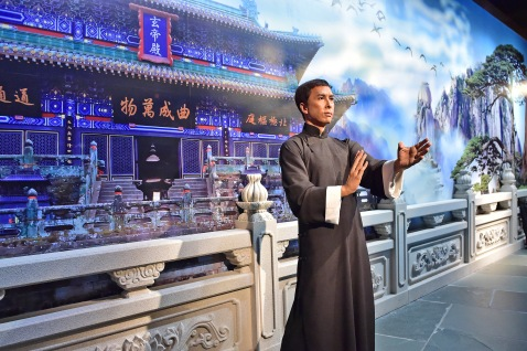 Donnie Yen- temple