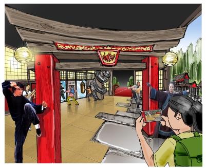 MT Hong Kong Kung Fu Concept