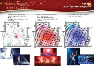 Madame Tussauds Hong Kong DIVA Lighting Scheme