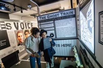 Joe Ravenhill - Noises Off exhibition @ the Bristol Old Vic theatre