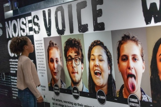 Joe Ravenhill - Noises Off exhibition @ the Bristol Old Vic theatre