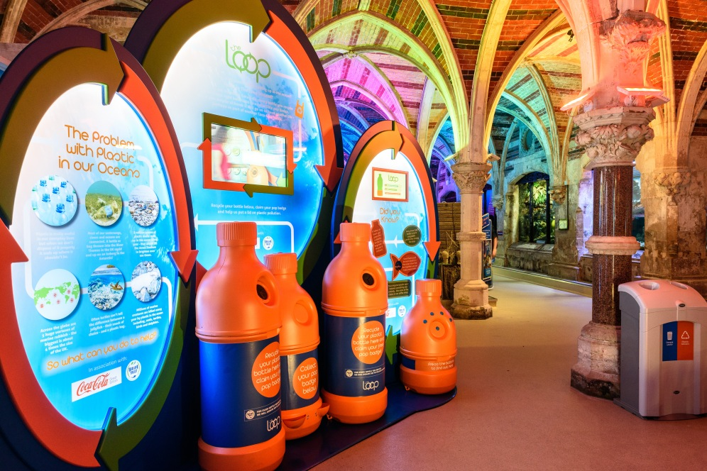 The Loop launches at Brighton SEALIFE Centre. photo ©Julia Claxton