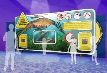 Weedy Sea Dragon Concept Visual